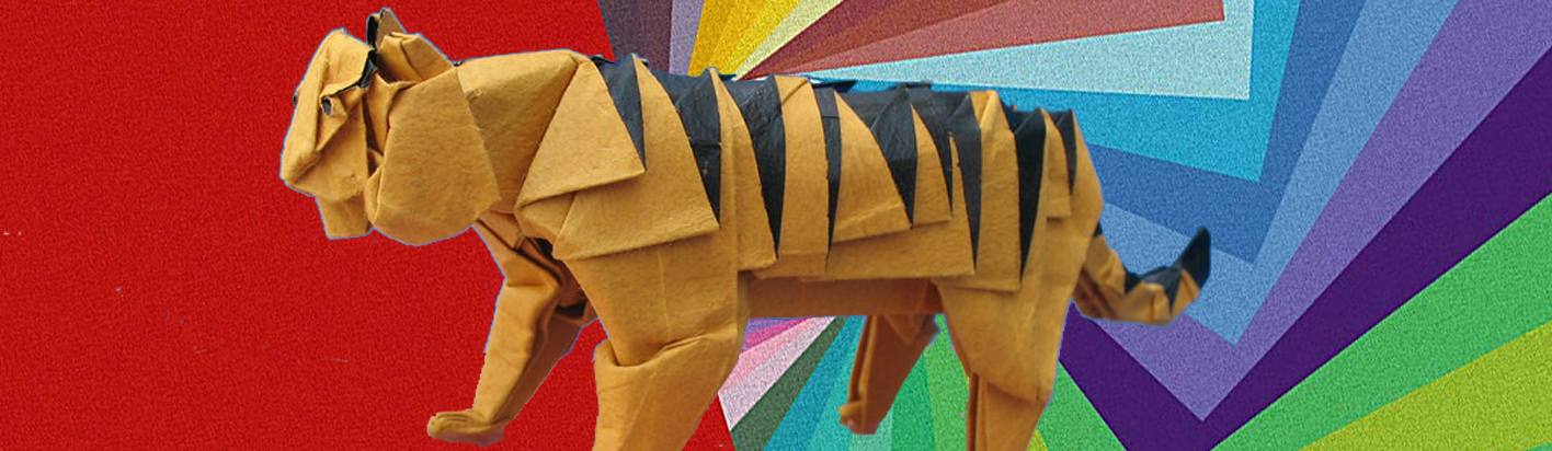 origami tiger for the paper menagerie